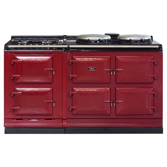 AGA Dual Fuel Module, Natural Gas Cooktop PEARL-3